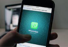 huella dactilar en WhatsApp