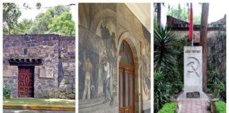 Lugares donde estuvieron Frida y Diego