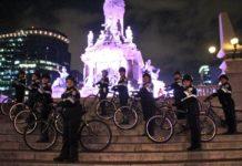 Mujeres policías en bici cuidarán a ciclistas en Paseo de la Reforma