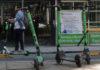 scooters en la cdmx