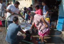 abasto de agua en Iztapalapa