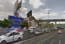 Atropella a policía para evitar infracción en Tacubaya