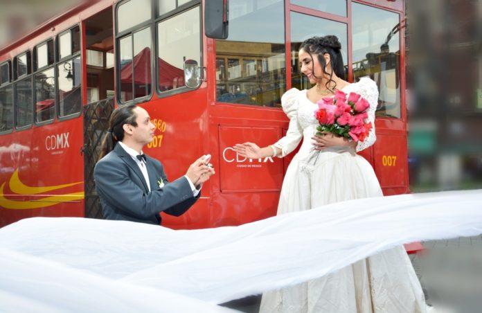 bodas en tranvía