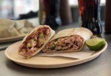 burrito de carnitas en CDMX