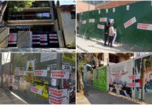 clausuran construcciones irregulares en la CDMX