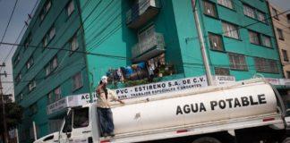 desabasto de agua en Azcapotzalco