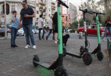 estacionamiento para scooters