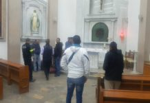 Reportan estallido de artefacto en Catedral de Ecatepec; no hay heridos
