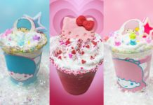 FRAPPÉS DE HELLO KITTT Y LITTLE TWIN STARS