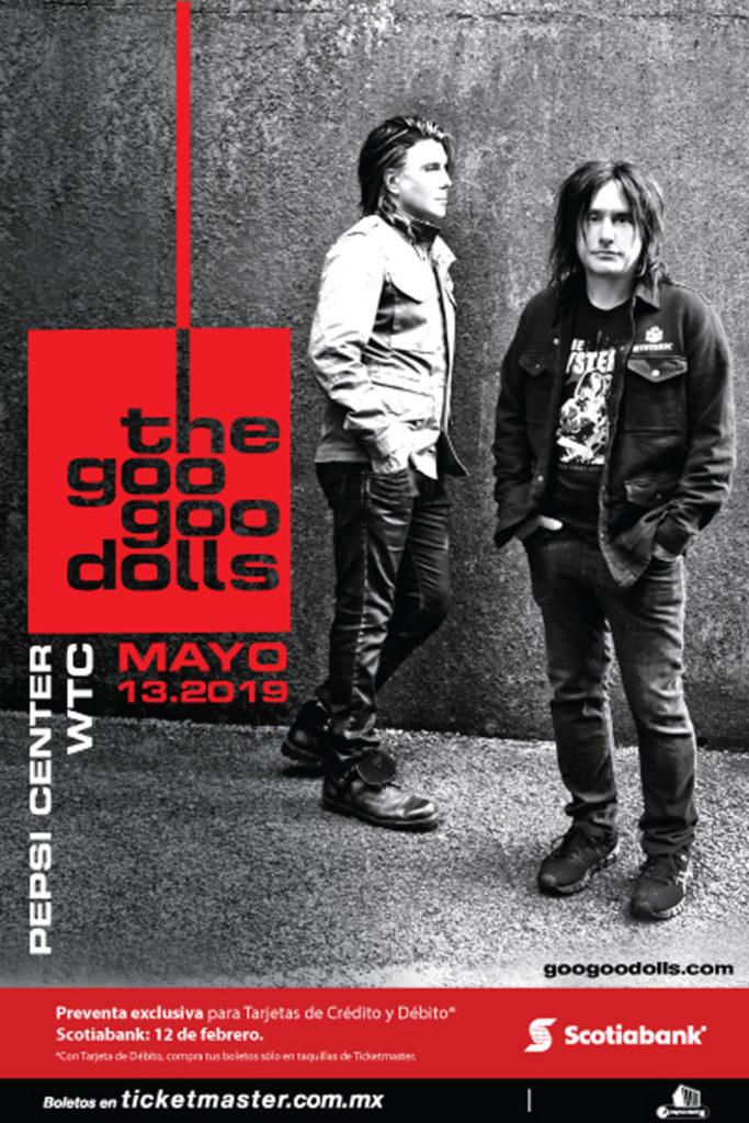 Goo Goo Dolls en CDMX