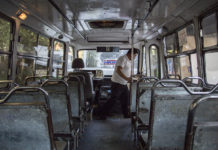 chofer de microbus en cdmx