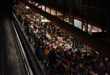Líneas del Metro con fallas