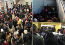 retrasos en 9 líneas del metro