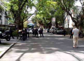 Durante robo, muere presunto asaltante en Polanco