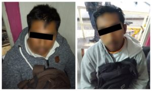 presuntos responsables de secuestro