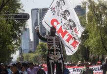 marchas y bloqueos de la cnte