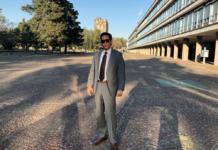 Roberto palazuelos en la UNAM