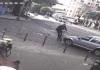 usuario de scooter sale disparado