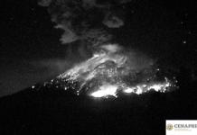 ceniza del Popocatépetl en la CDMX