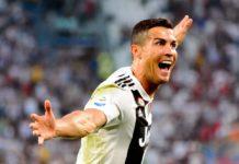 Cristiano Ronaldo en la Champions