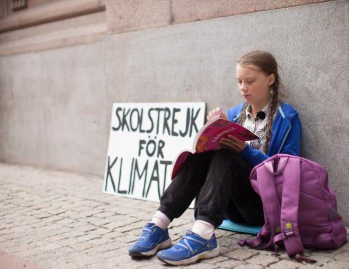 Greta Thunberg Facebook: Greta Thunberg Y La Lucha Contra El Cambio Climático
