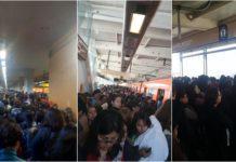 caos en la Línea 12 del Metro