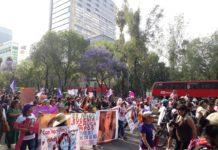 Marcha por el Dia de la Mujer