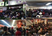 caos en 8 líneas del metro