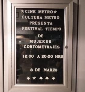 cartelera cine Metro