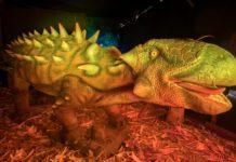dinosaurios en el papalote