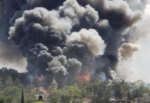 Reportan explosión en Chimalhuacán; ocurrió en taller de pirotecnia