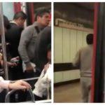 gas pimienta en el Metro Morelos