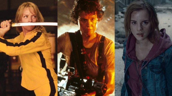 mejores heroínas del cine