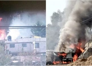 explosión de una pipa en Milpa Alta
