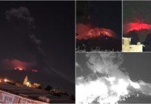 Popocatépetl lanzó lava y ceniza