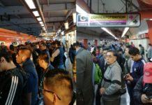 Jueves de caos. Servicio del Metro chilango tiene retrasos en 10 líneas