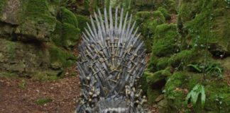 Tronos de Game of Thrones en el mundo