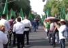 Marcha por el centenario luctuoso de Emiliano Zapata