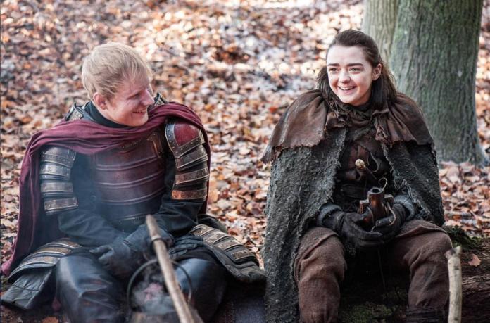 destino de Ed Sheeran en Game of Thrones