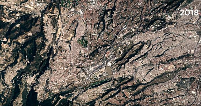 Santa Fe en 1985