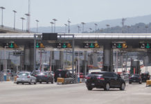caos en la autopista M茅xico-Cuernavaca