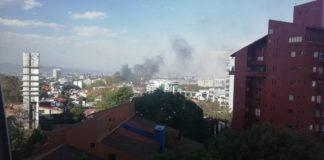 incendio en Santa Fe