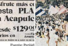 Acapulco en Semana Santa durante los años 70