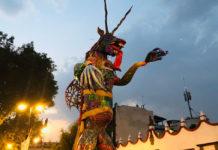 alebrije en Coyoacán