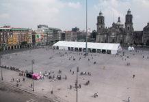 Cerrarán calles cercanas al Zócalo durante Semana Santa