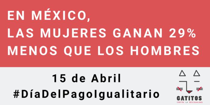 #DíaDelPagoIgualitario En México (15 De Abril De 2019
