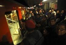 fallas en el metro