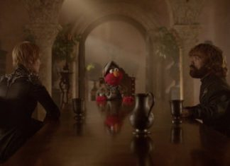 Elmo en Game of Thrones