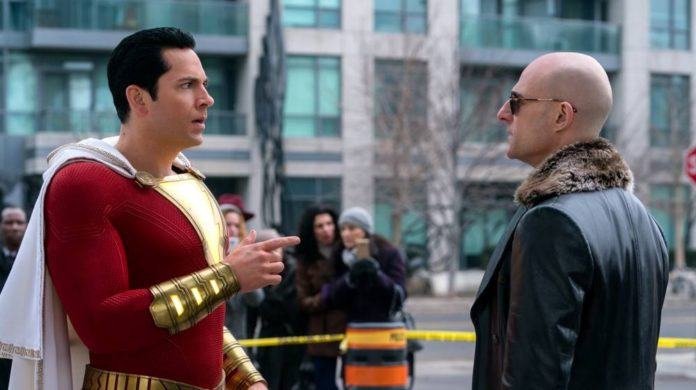 escenas post créditos de shazam
