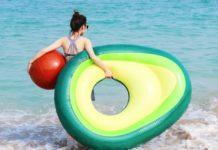 flotador de aguacate